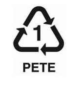 1-es jelzésű műanyag