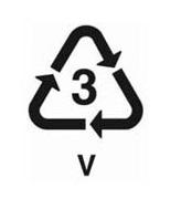 3-mas jelzésű műanyag