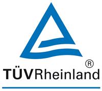 TÜV Rheinland - vízszűrő tanusítvány