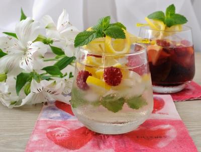 igyon több vizet - gyümölcsös víz