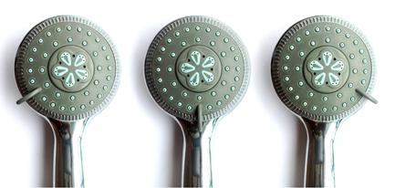 zuhanyfejes zuhanyszűrő fokozatok