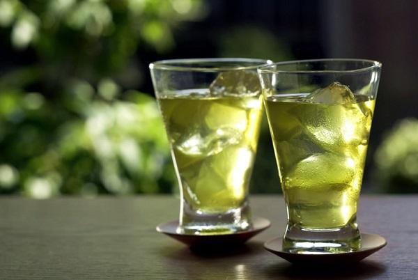 Jeges zöld tea