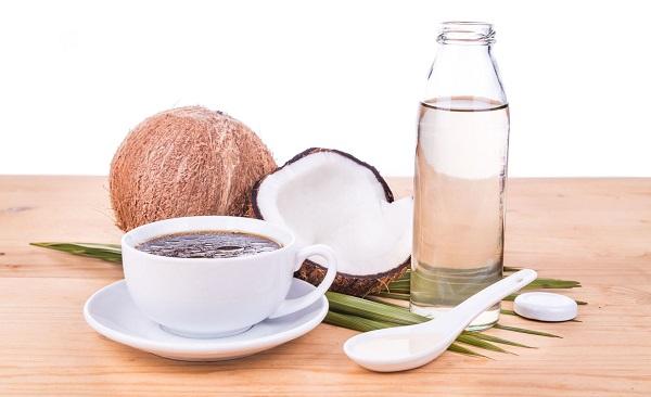 Kávé kókuszolajjal