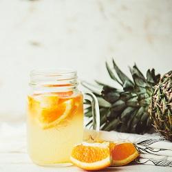 ananász narancs víz