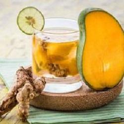 mangó gyömbéer víz