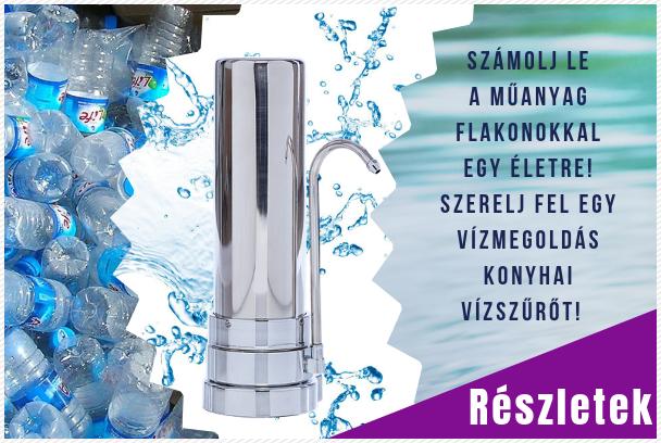 Vízmegoldás vízszűrő